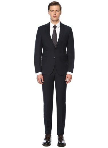 George Hogg Erkek  Takım Elbise 7004152 Lacivert